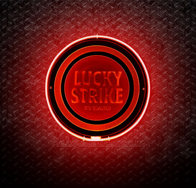 Lucky Strike It's Toasted 3D Neon Sign