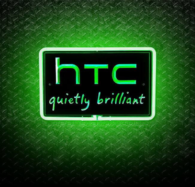 HTC Quietly Brilliant 3D Neon Sign