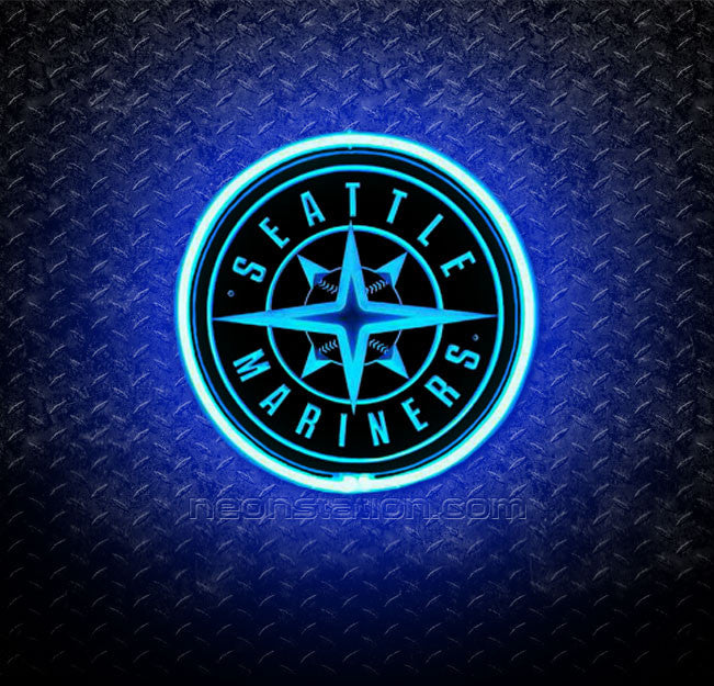 MLB Seattle Mariners 3D Neon Sign