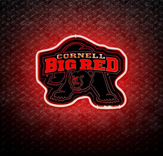 NCAA Cornell Big Red 3D Neon Sign