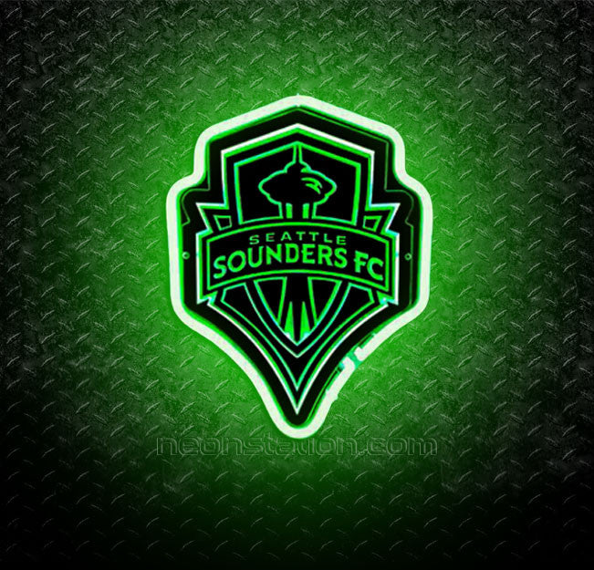 Seattle Sounders FC 3D Neon Sign