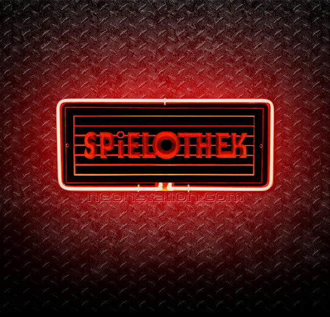 Spielothek Game Room 3D Neon Sign