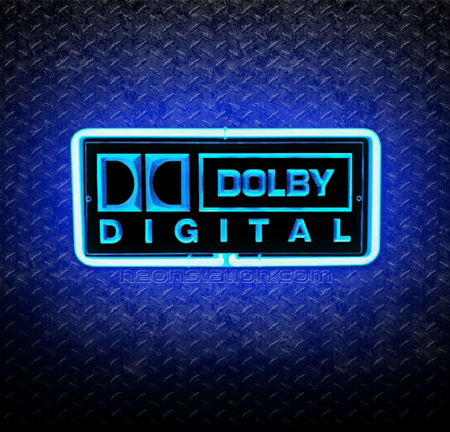 Dolby Digital Sound 3D Neon Sign