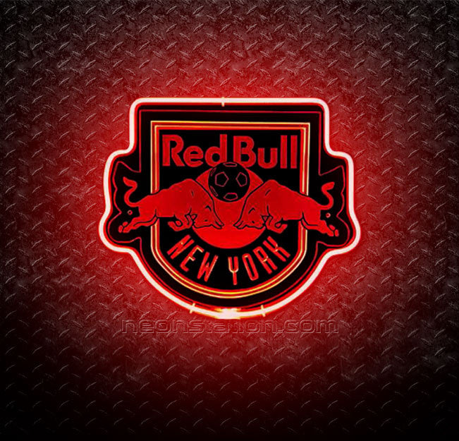 MLS New York Red Bulls 3D Neon Sign