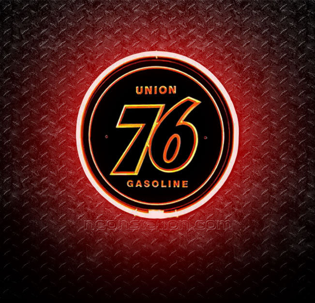 Union 76 Gasoline 3D Neon Sign