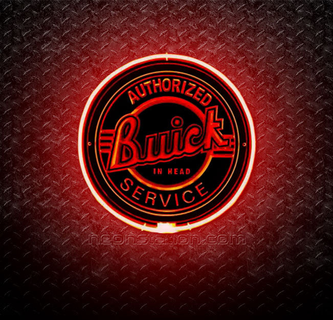 Buick Authorized Service 3D Neon Sign