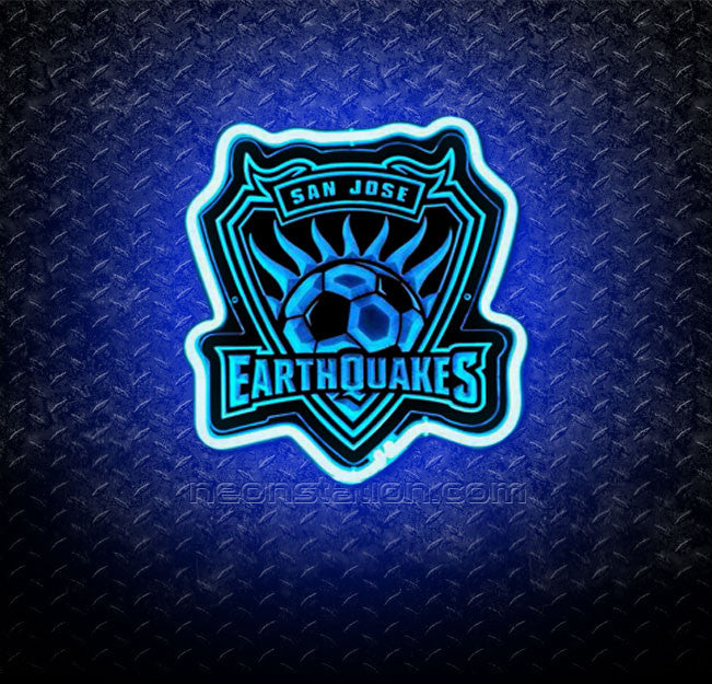 MLS San Jose Earthquakes 3D Neon Sign