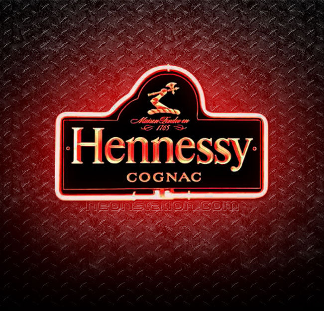 Hennessy Cognac 3D Neon Sign