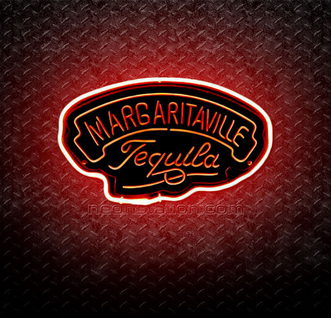 Jimmy Buffett's Margaritaville Tequila 3D Neon Sign