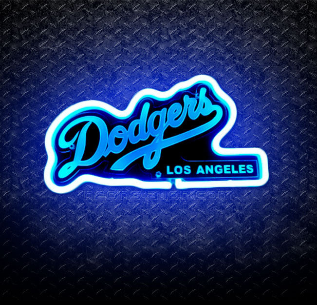 Los Angeles Dodgers 3D Neon Sign