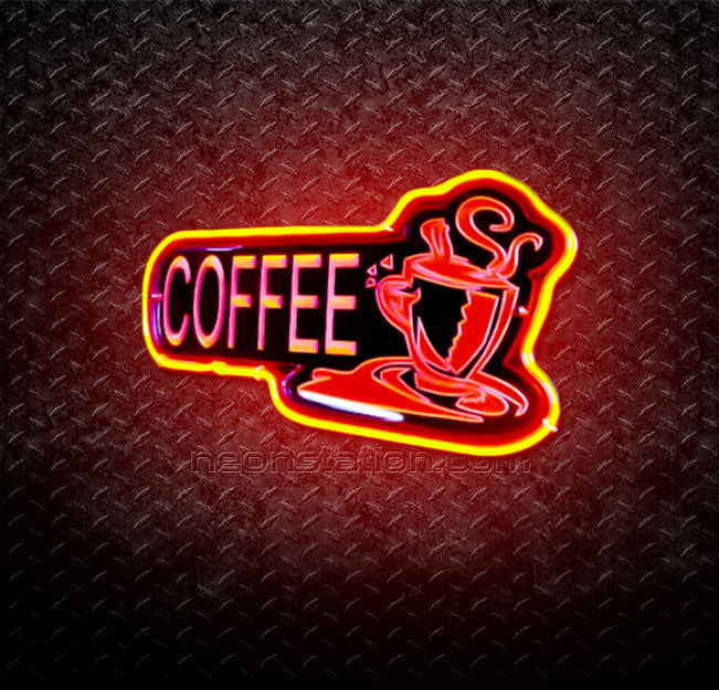 Coffee 3D Neon Sign
