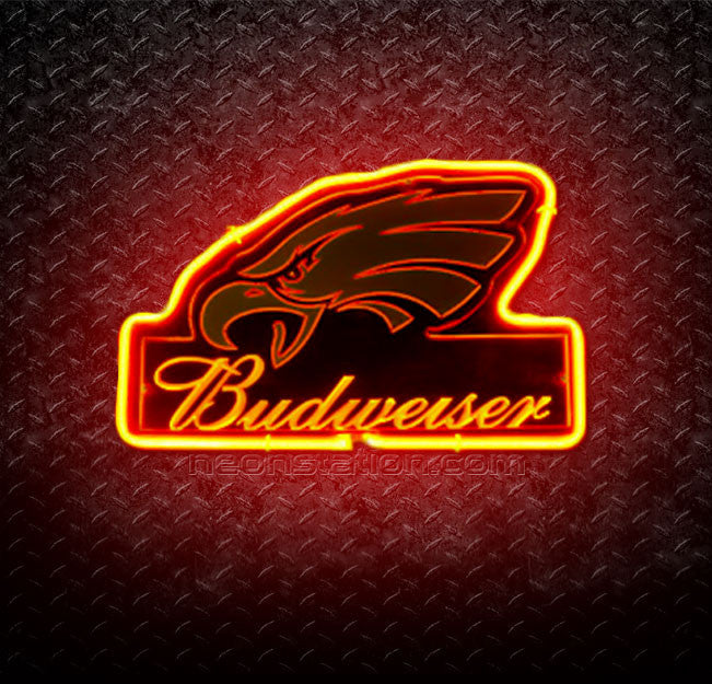 NFL Philadelphia Eagles Budweiser 3D Neon Sign