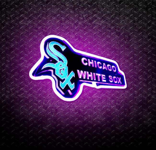 MLB Chicago White Sox 3D Neon Sign