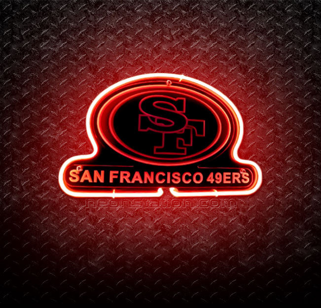 NFL San Francisco SF 49ers 3D Neon Sign