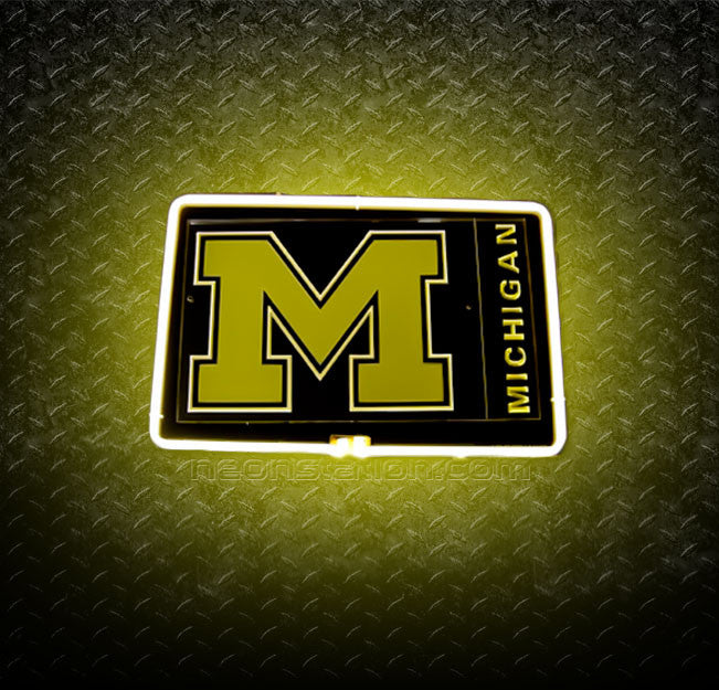 University of Michigan 3D Neon Sign