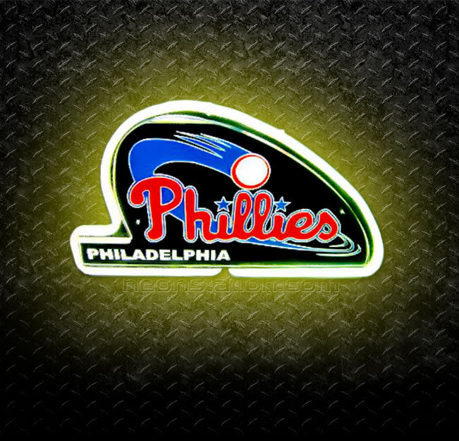 MLB Philadelphia Phillies 3D Neon Sign