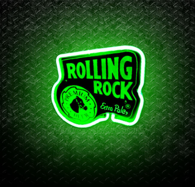 Rolling Rock Extra Pale Premium 3D Neon Sign