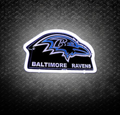 NFL Baltimore Ravens 3D Neon Sign