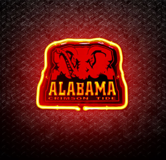 Alabama Crimson Tide 3D Neon Sign