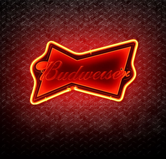 Budweiser King of Beer 3D Neon Sign