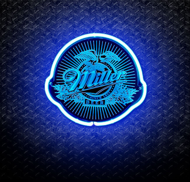 Miller Brewing Company Beer 3D Neon Sign