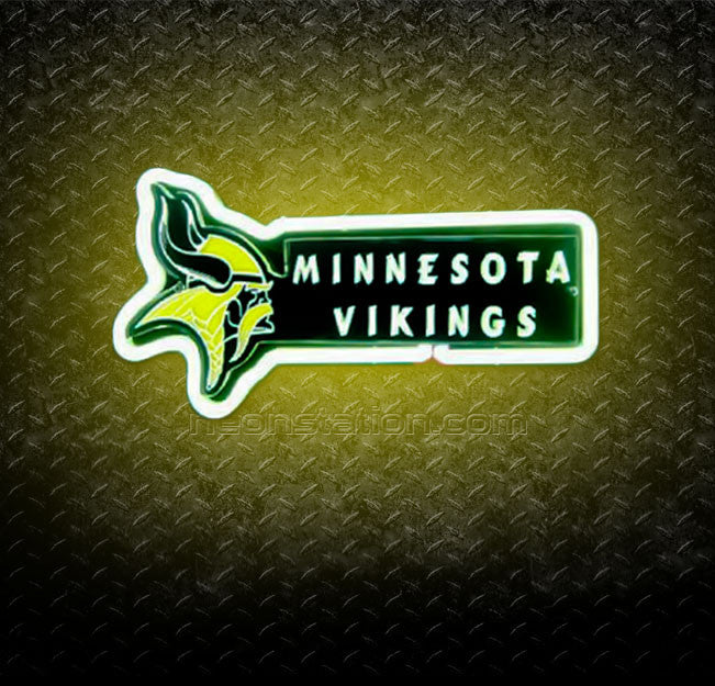 NFL Minnesota Vikings 3D Neon Sign