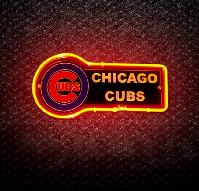MLB Chicago Cubs 3D Neon Sign