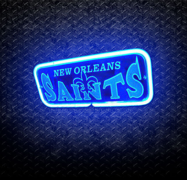 NFL New Orleans Saints 3D Neon Sign