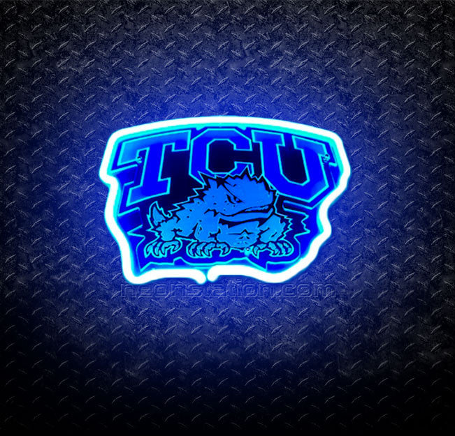 NCAA TCU Horned Frogs 3D Neon Sign