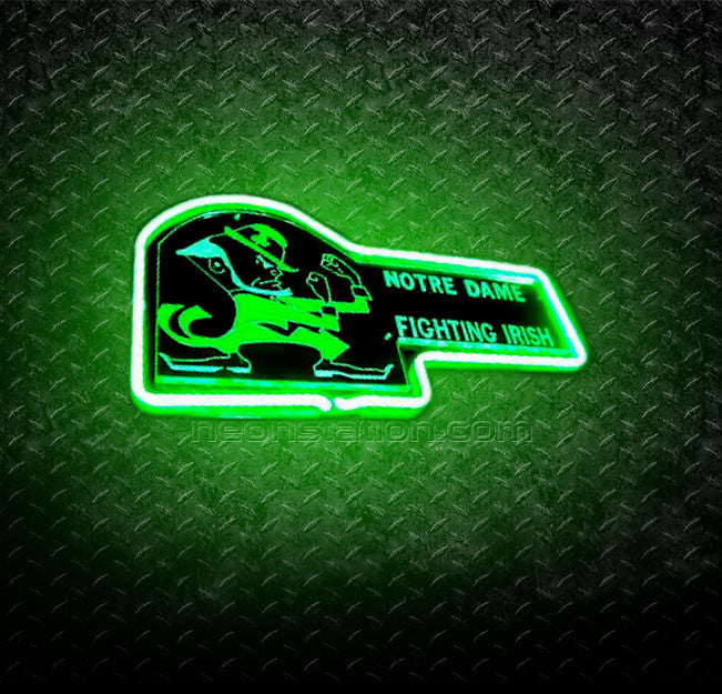 NCAA Notre Dame Fighting Irish 3D Neon Sign