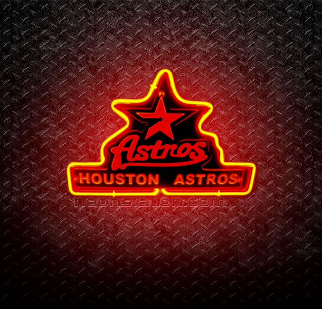 MLB Houston Astros 3D Neon Sign