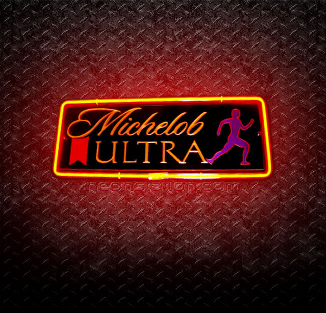 Michelob Ultra Jogger 3D Neon Sign