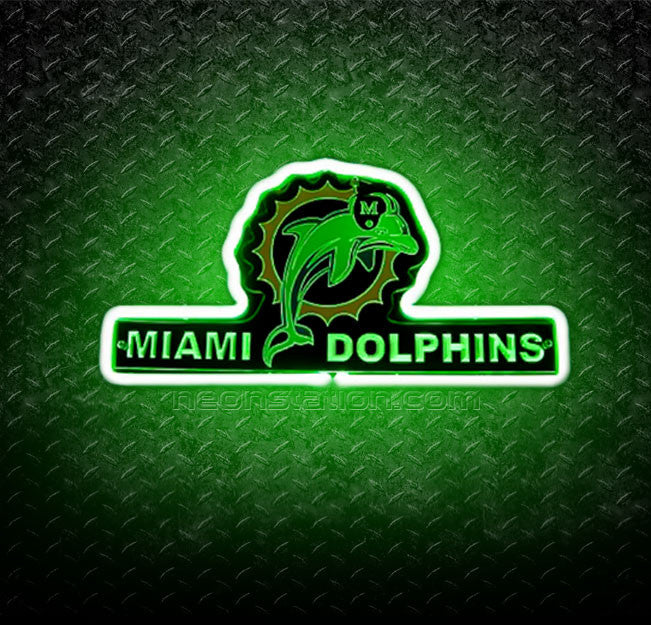 NFL Miami Dolphins 3D Neon Sign