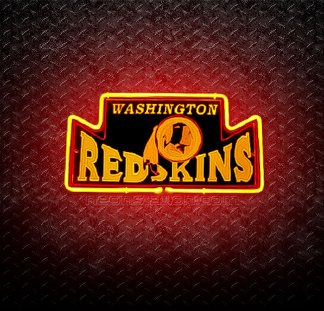 NFL Washington Redskins 3D Neon Sign