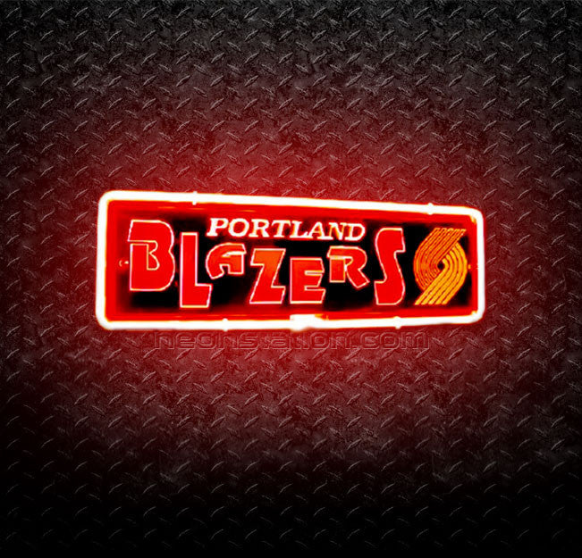 NBA Portland Trail Blazers 3D Neon Sign