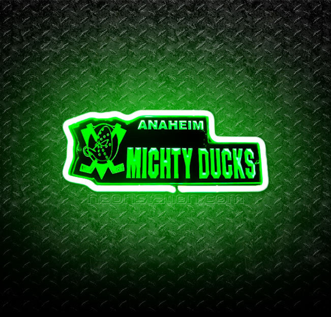 NHL Anaheim Mighty Ducks 3D Neon Sign