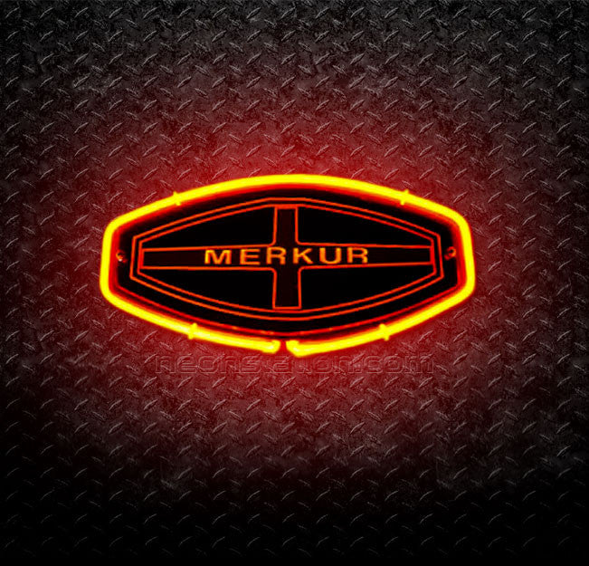 Merkur Automobile 3D Neon Sign