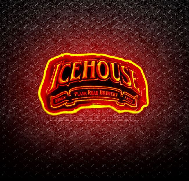 Icehouse Brewery 3D Neon Sign