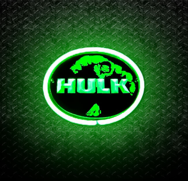The Hulk 3D Neon Sign