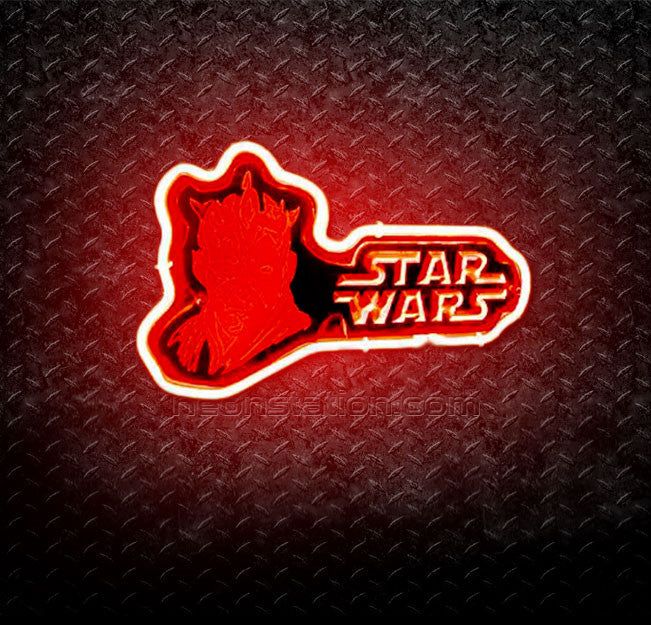 Star Wars Darth Maul 3D Neon Sign