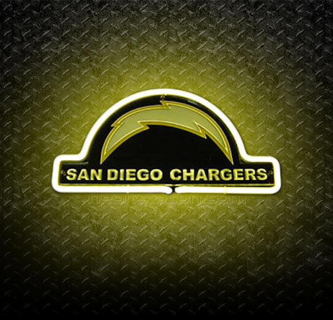 NFL San Diego Chargers 3D Neon Sign