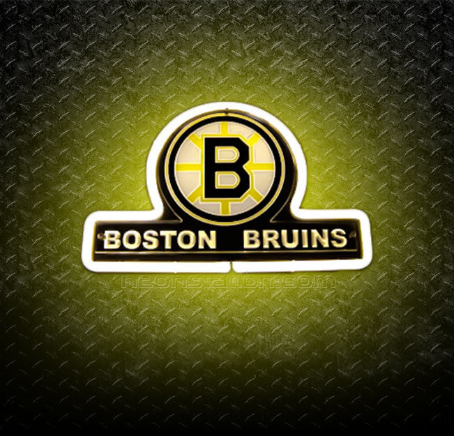 NHL Boston Bruins 3D Neon Sign