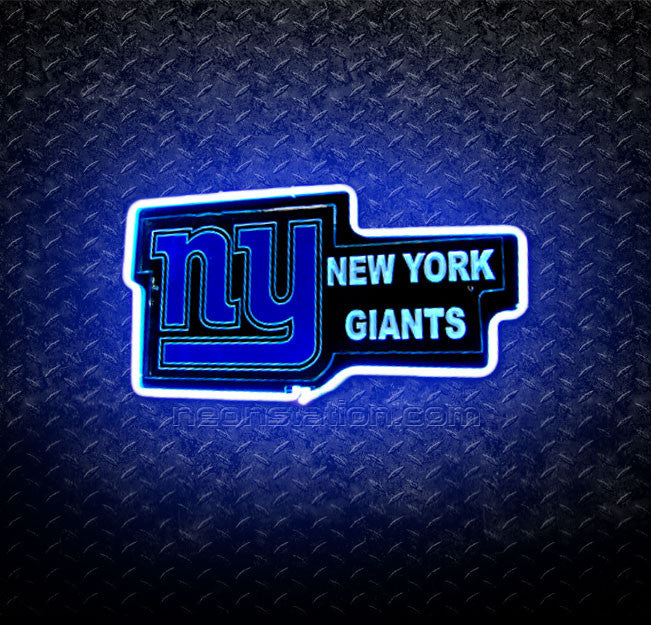NFL New York Giants 3D Neon Sign