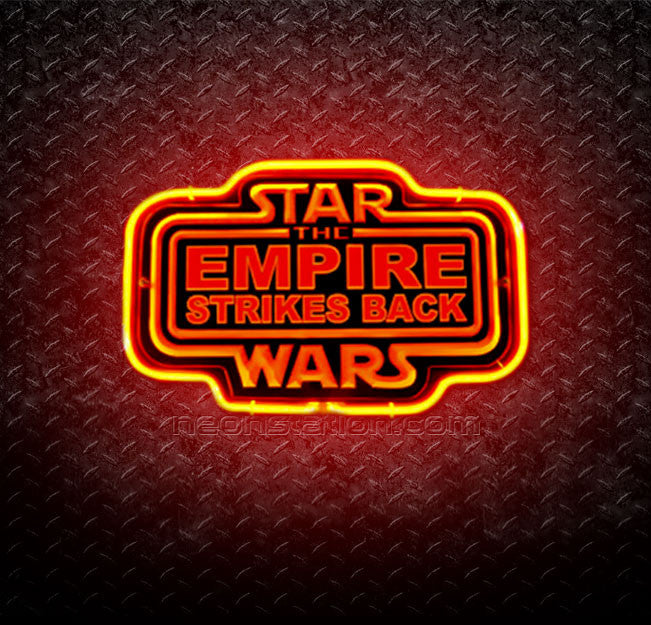 Star Wars The Empire Strikes Back 3D Neon Sign