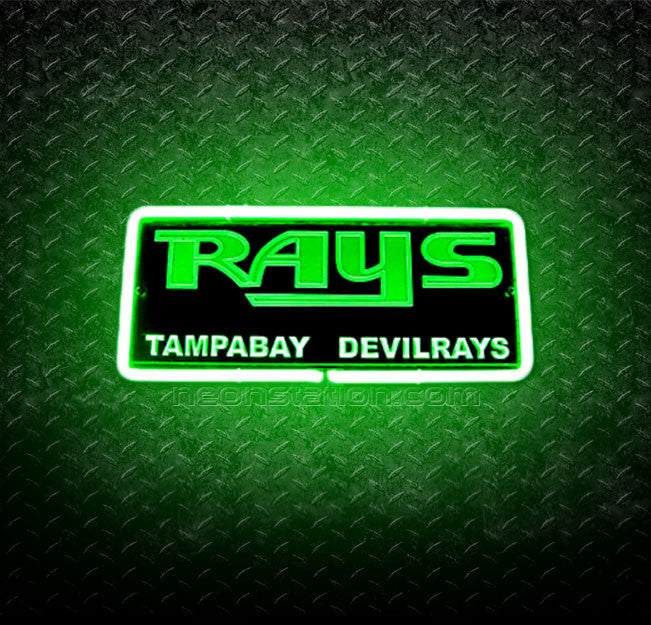 MLB Tampa Bay Rays 3D Neon Sign