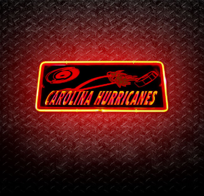 NHL Carolina Hurricanes 3D Neon Sign
