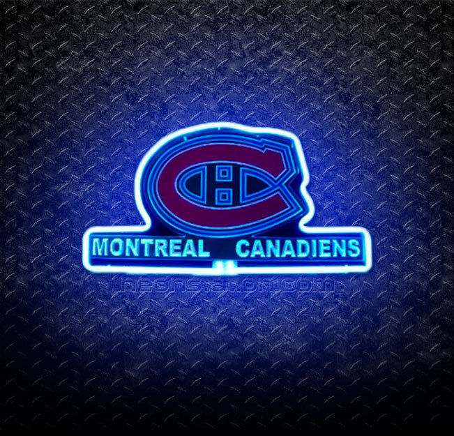 NHL Montreal Canadiens 3D Neon Sign