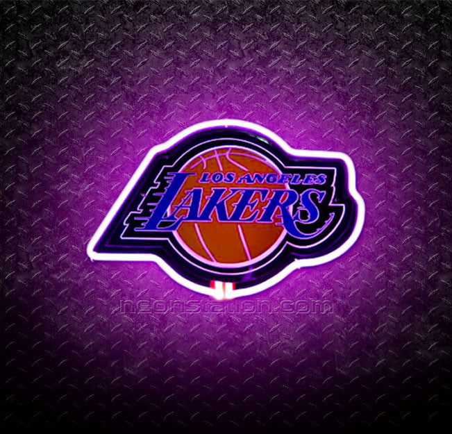 NBA Los Angeles Lakers 3D Neon Sign
