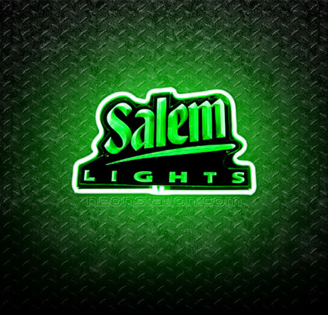 Salem Lights 3D Neon Sign