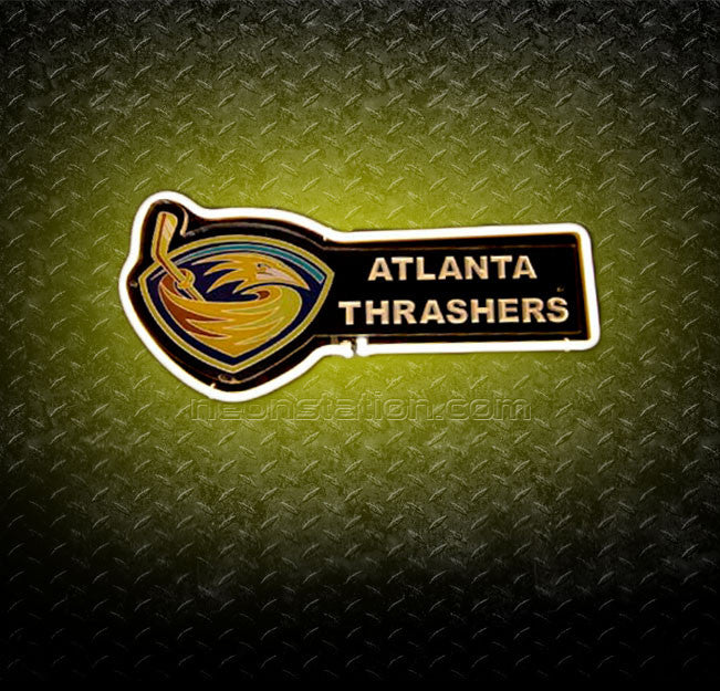 NHL Atlanta Thrashers 3D Neon Sign